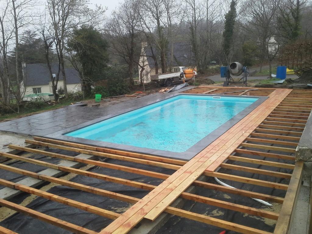 Sweetline : chantier piscine