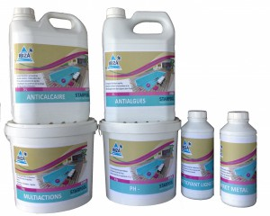 Sweetline entretien : kit de demarage piscine