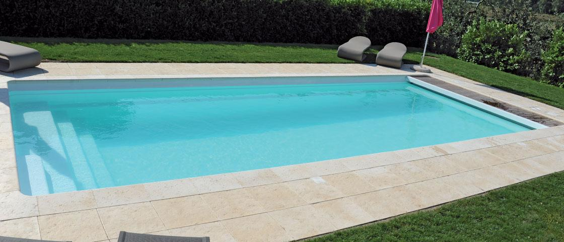 Riviera 3 sweetline for Piscine a debordement principe