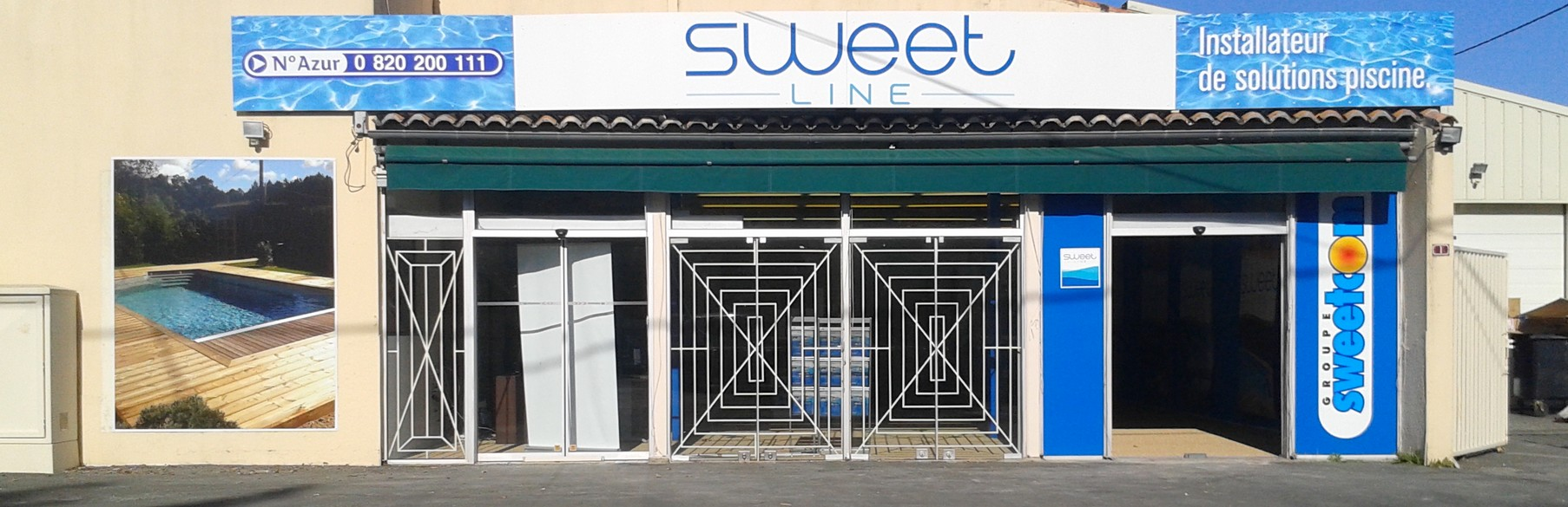 Facade Boutique Sweetline Saint Aulaye