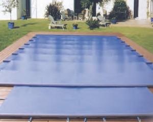Sweetline piscines : bache a barres